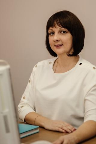 Ведущий специалист - Васильева Татьяна
