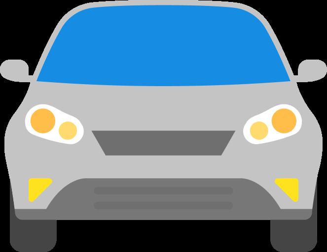 Иконка машины серого цвета